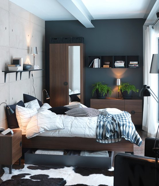 Ikea-small-bedroom-decorating-ideas-7