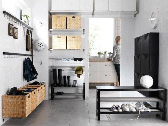 Beautiful-Tidy-Hallway-Decor-11-Cool-Hallway-room-ideas-from-IKEA-550x412