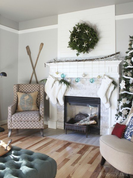 Christmas-Mantel-Family-Room-The-Inspired-Room-House-Tour