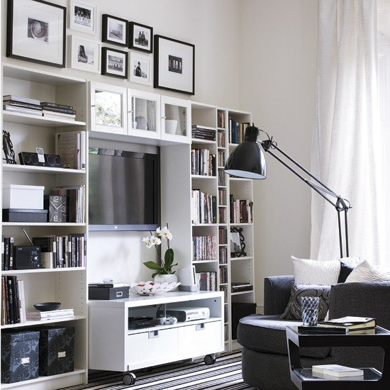 Storage-solutions-for-small-spaces---living-room