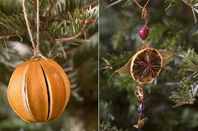 christmas orange pomander spiced fruit