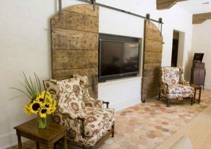 hide-it-behind-diy-barn-doors-on-rails-2-434x307