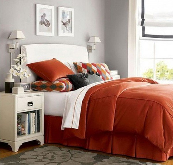 inspirational-orange-bedroom-decor
