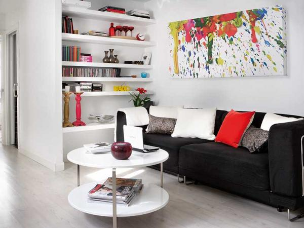 Adding-Lick-or-Paint-for-Small-Living-Room-in-One-Bedroom-Apartment-Design-Idea