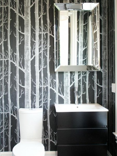 trees-wallpaper-small-bathroom-design-white-clean-toilet