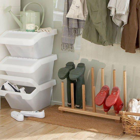 Boot-room-storage-ideas-Shoe-racks-Ideal-Home