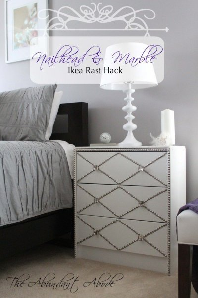 IKEA-Rast-hack-from-The-Abundant-Abode-nailhead-trim-with-a-marble-top