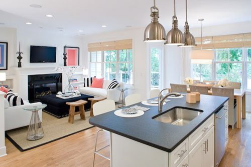small-open-kitchen-designs-with-living-room