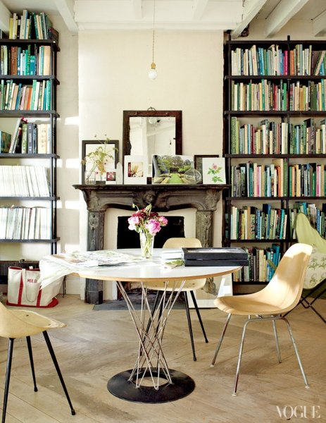 1 interiors - vogue - dustjacket attic