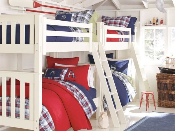 red-white-and-blue-bunk-beds-boys-room