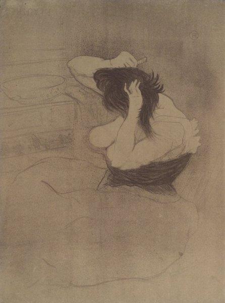 Brooklyn_Museum_-_Femme_Qui_Se_Peigne_from_Elles_-_Henri_de_Toulouse-Lautrec