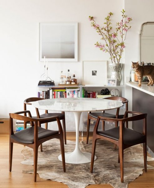 Mid Century Modern Dining Room Redo