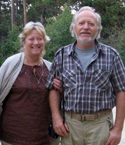 Oláh Lajos  és felesége