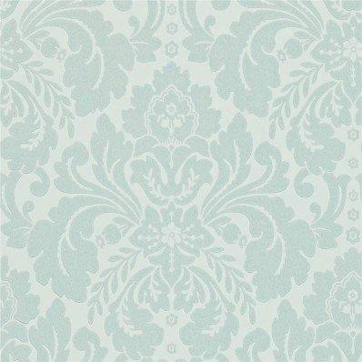 Scotch Grey Blue - 212150 - Richmond - Richmond Hill - Sanderson Wallpaper