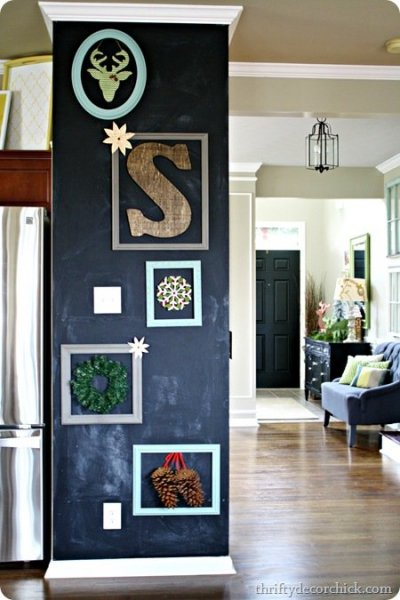 ThriftyDecorChick_Chalkboard Art Wall Photo 1