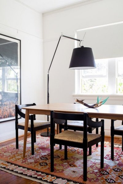 my-paradissi-creative-dining-room-lighting-ideas-bare-bulb-pendant-petra-tiihonen-kotivinkkiarc-floor-lamp-juliette-arent-matthew-squadrito-the-design-files