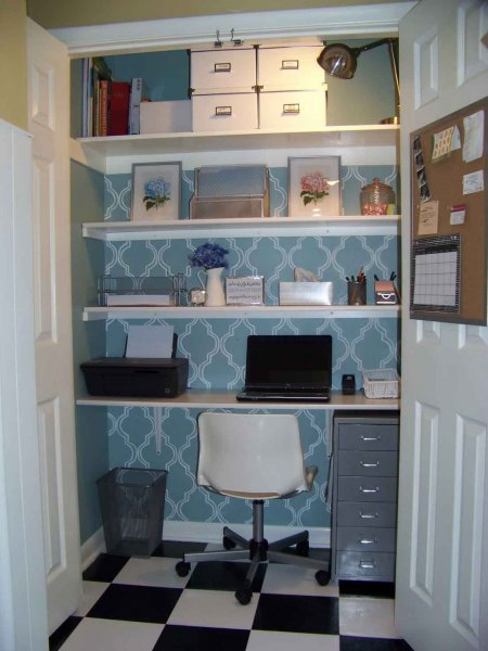 unique-decoration-blue-wardrobe-office-home
