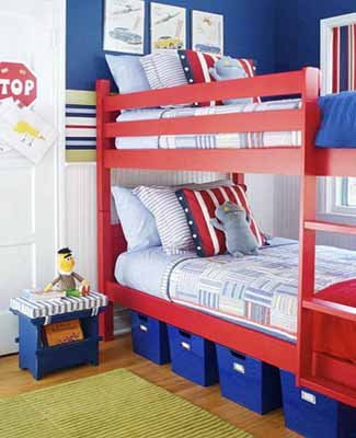bunk-beds-kids-room-decor-blue-red