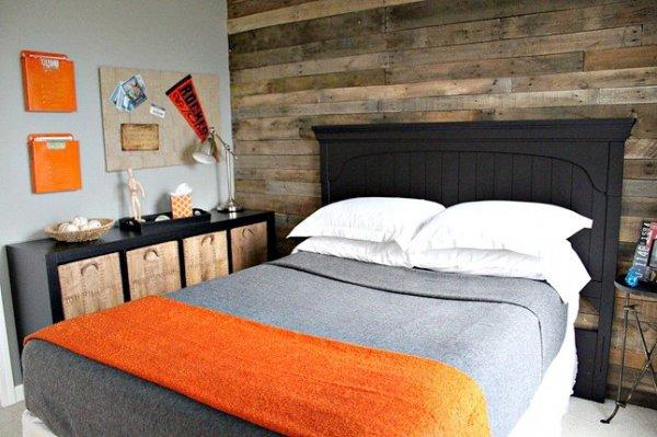 gray-orange-bedroom