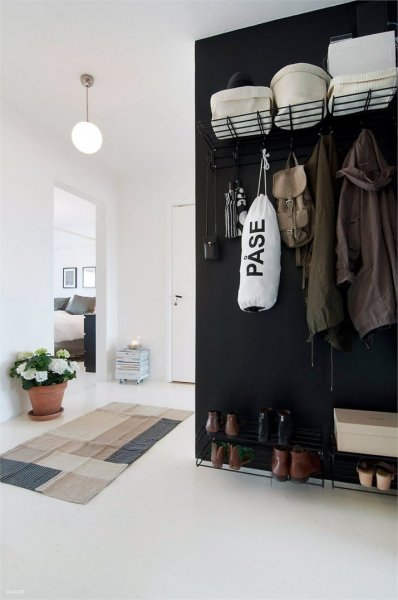 entryway-with-a-black-wall