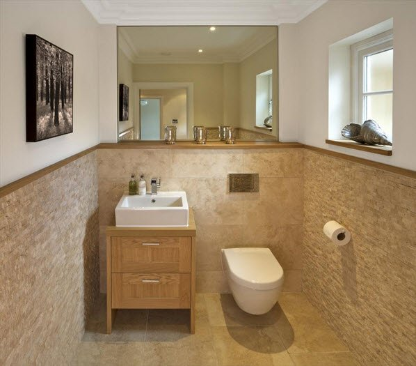 travertine-brick-pattern-wall-covering-bathroom