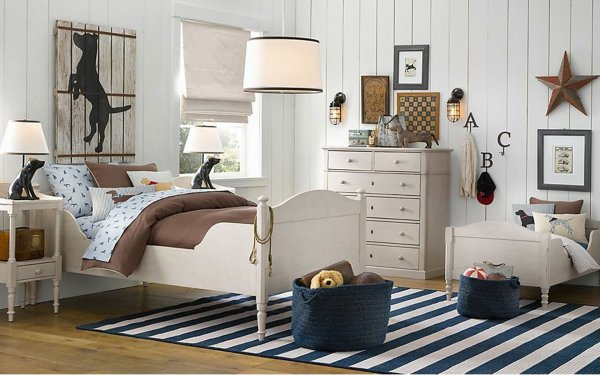 decoration-inspiration-appealing-cool-white-wooden-wall-painted-as-inspiring-boys-room-designs-with-white-wood-single-bed-over-striped-rug-ideas-in-small-space-room-decors-enamour-rug-ideas-for-any-r