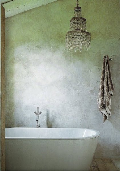 Bath Italian Country Living as seen on linen & lavender
