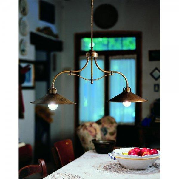 il fanale  203 10 OO ket izzos mennyezeti rez lampa csillar mediterran konyhai lampa allithato magassag asztal fole rusztikus