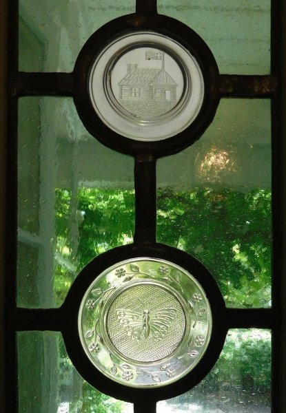 Entry glass detail