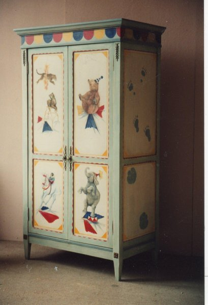 deb-painted-furniture-circus-armoire
