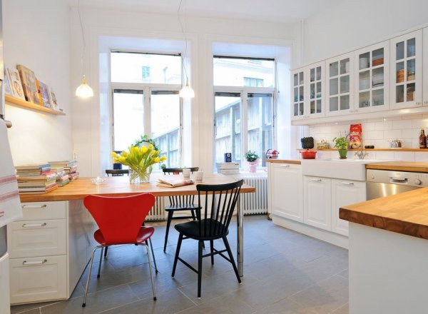 creative-white-kitchen-and-dining-room