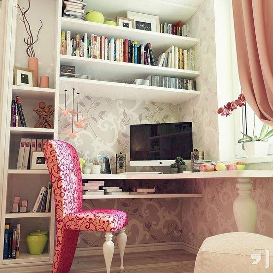 Teen-Girl-corner-office