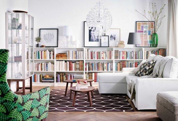 IKEA+Billy+Bookcase-catalog-living+room
