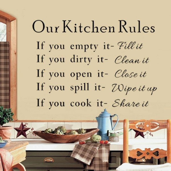Elegant-Words-Our-Kitchen-Rules-Quotes-Wall-Stickers-Decal-Mural-Decor-Vinyl-Art-Removable-Sticker